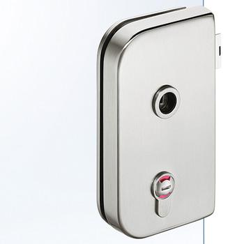Badkamer Wc Slot Voor Glasdeur Ghp 103 Startec In De Hafele Nederland Shop