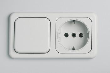 Geaarde stopcontacten 60 x 60 mm inbouw 230 v u2013 in de häfele