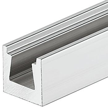 Onzichtbaar Ophangsysteem Voor Planken.Rail Met Wiggroef Voor De Onzichtbare Montage In De Hafele