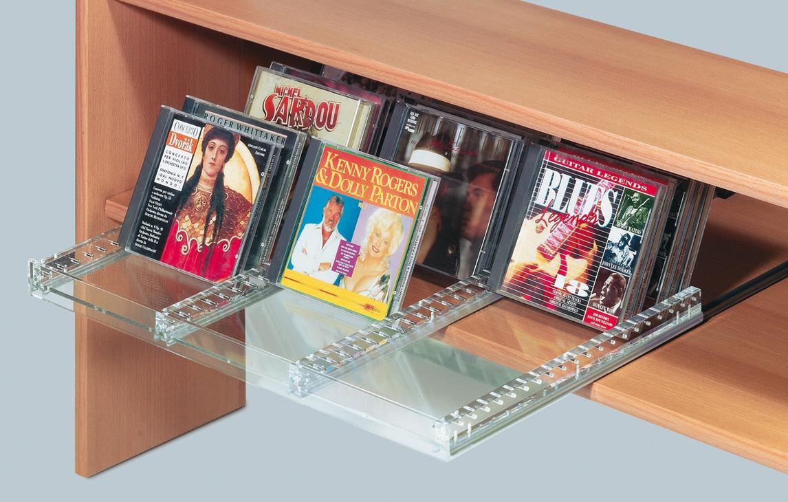 cd opbergsysteem uittrekelement voor cd 39 s rechtopstaand dwars in de h fele nederland shop. Black Bedroom Furniture Sets. Home Design Ideas