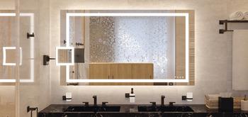Badkamerspiegel, Häfele Aquasys, multifunctioneel – in de Häfele ...